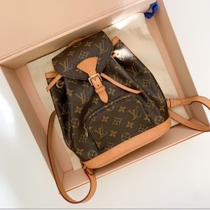 😍AMAZING 😍 Auth LV Mini Backpack